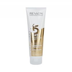 REVLON REVLONISSIMO 45 DAYS Golden Blondes Colour-maintaining Shampoo and Conditioner set 275ml