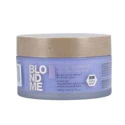 SCHWARZKOPF PROFESSIONAL BLONDME Neutralizing Cool Blondes Mask 200ml