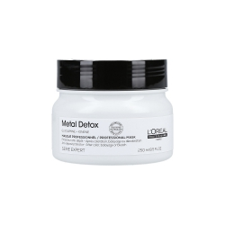 L'OREAL PROFESSIONNEL METAL DETOX Mask for colour-treated hair 250ml