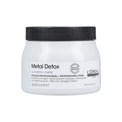 L'OREAL PROFESSIONNEL METAL DETOX Mask for colour-treated hair 500ml