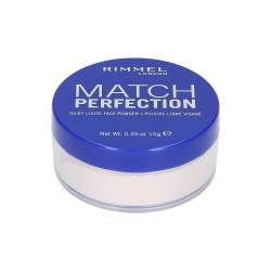 RIMMEL MATCH PERFECTION Transparent Powder 001 10g