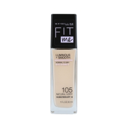 MAYBELLINE FIT ME LUMINOUS + SMOOTH Foundation 105 Natural Ivory 30ml