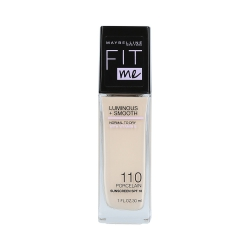 MAYBELLINE FIT ME LUMINOUS + SMOOTH Foundation 110 Porcelain 30ml