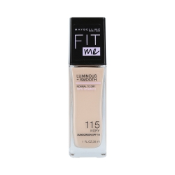 MAYBELLINE FIT ME LUMINOUS + SMOOTH Foundation 115 Ivory 30ml