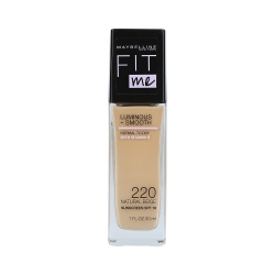 MAYBELLINE FIT ME LUMINOUS + SMOOTH Foundation 220 Natural Beige 30ml