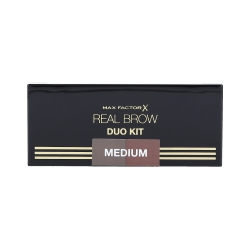 MAX FACTOR REAL BROW DUO KIT 02 Medium