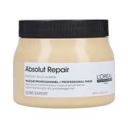 L'OREAL PROFESSIONNEL ABSOLUT REPAIR Gold Quinoa+Protein Golden regenerating mask 500ml