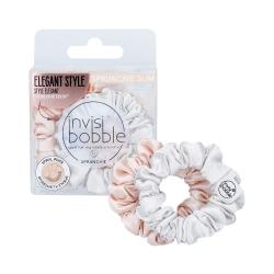 INVISIBOBBLE SPRUNCHIE Velvet scrunchie Slim Bella Chrome 2-pack