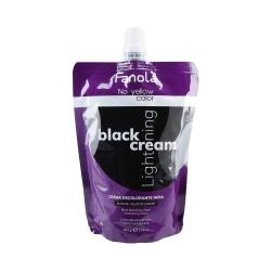 FANOLA NO YELLOW Black Cream Lightening 500g