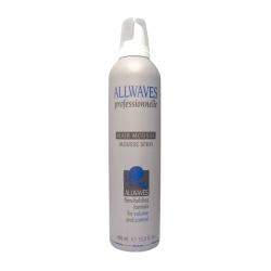 Allwaves Professionnelle Volume Hair Mousse 400 ml