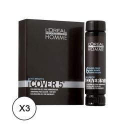 L'Oréal Professionnel Homme Cover 5' - 7 Blonde 50 ml X 3