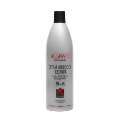 Allwaves Professionnelle Cream Hydrogen Peroxide 6% 1000 ml