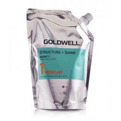 Goldwell Structure + Shine - 1 Regular Normal to Fine Natural Hair - Agent 1 Softening Cream 400 g