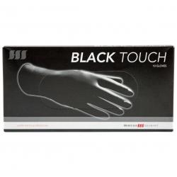 Hercules Black Touch Powder-Free Latex Gloves Size L 10 pcs.