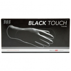Hercules Black Touch Powder-Free Latex Gloves size S 10 pcs.