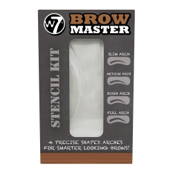 W7 Brow Master Stecil Kit For Brow Shaping