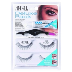 Ardell Deluxe Pack 2 pair of lashes + adhesive + lash applicator