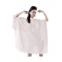 Labor Pro Professional White Hairdressing Cape