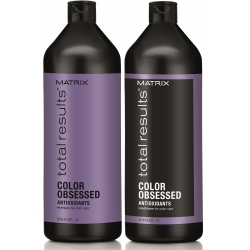 Matrix Total Results Color Obsessed Set Shampoo 1000 ml + Conditioner 1000 ml