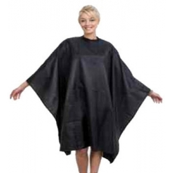 Black Short Hairdressing Cape