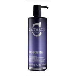 Tigi Catwalk Fashionista Violet Grey and Blonde Hair Shampoo 750 ml