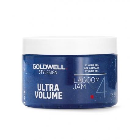 GOLDWELL StyleSign Ultra Volume Styling Gel, Lagoom Jam 4, 5 oz / 142 g - Just Hair Products