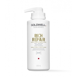GOLDWELL DUALSENSES RICH REPAIR 60sec Treatment For Damaged Hair 500ml