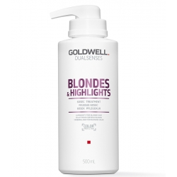 GOLDWELL DUALSENSES BLONDES & HIGHLIGHTS 60Sec Treatment For Blond Hair And Hair With Highlights 500ml