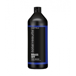 MATRIX TOTAL RESULTS BRASS OFF Conditioner for blonde hair 1000ml