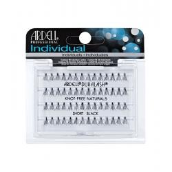 ARDELL MINI INDIVIDUALS NATURAL Black Short Eyelashes 56 units