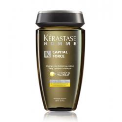 KÉRASTASE HOMME CAPITAL FORCE daily treatment Shampoo 250ml
