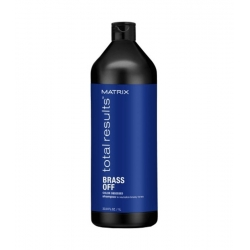 MATRIX TOTAL RESULTS BRASS OFF Shampoo for blonde hair 1000ml
