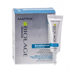 MATRIX BIOLAGE KERATINDOSE Hair regenerating ampoules 10x10ml