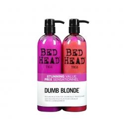 Tigi Bed Head Dumb Blonde Shampoo 750 ml + Conditioner 750 ml
