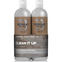 Tigi Bed Head Men Clean Up SET Shampoo 750 ml + Conditioner 750 ml