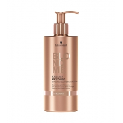 SCHWARZKOPF PROFESSIONAL BLONDME Keratin restore bonding cleansing conditioner 500ml