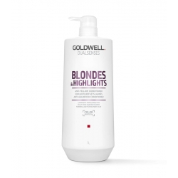 Goldwell - DUALSENSES - Blondes & Highlights / Anti-Yellow Conditioner | 1000 ml.