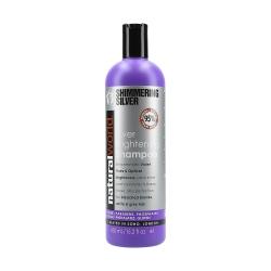 NATURAL WORLD SHIMMERING SILVER Brightening Shampoo 450ml