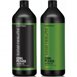 Matrix Total Results Curl Please Shampoo 1000 ml + Conditioner 1000 ml