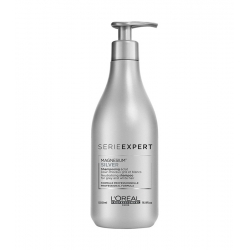 L'OREAL PROFESSIONNEL Serie Expert Magnesium Silver Neutralising shampoo for grey and white hair 500ml