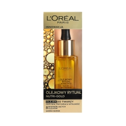 L'OREAL PARIS NUTRI-GOLD Extraordinary oil face 30ml