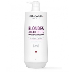 Goldwell Dualsenses Blondes & Highlights Neutralizing Shampoo For Blonde Hair And Hair With Highlights 1000ml