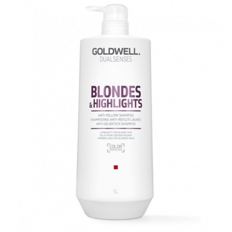 Goldwell Dualsenses Blondes Highlights Neutralizing Shampoo For