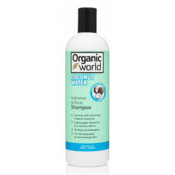 Natural World Coconut Water Hydration & Shine Shampoo 500 ml