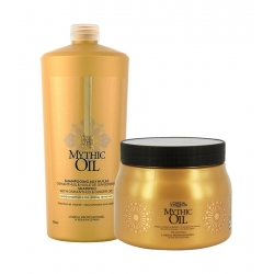 L'Oréal Professionnel Mythic Oil Set Shampoo 1000 ml + Mask 500 ml