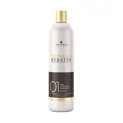 Schwarzkopf Professional Supreme Keratin Deep Clarifying Shampoo 500 ml SALE