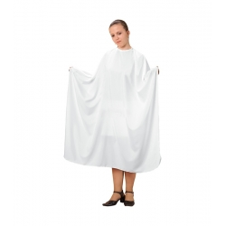 FOX BASIC LINE WHITE CAPE 6 METAL SNAPS