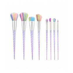 TOOLS FOR BEAUTY Set of 8 unicorn make-up brushes