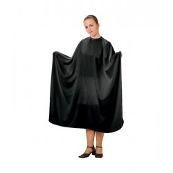Fox Professional Basic Line Black Hairdressing Cape