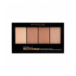 MAYBELLINE Master bronze color & highlighting kit 14g